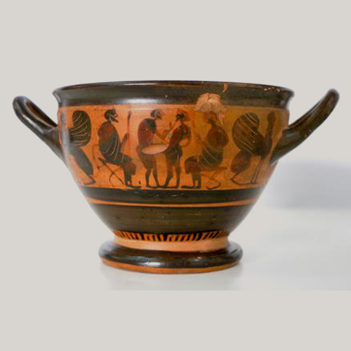 Greek Athens Bowl circa 500 BCE