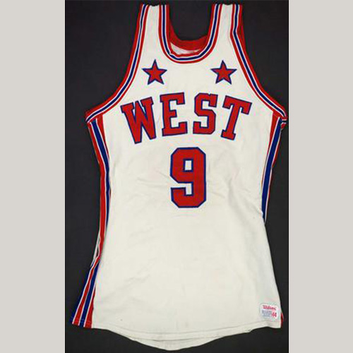1973 Bob Love Western Conference Game Used All Star Jersey
