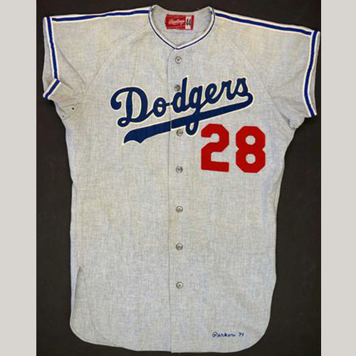 1971 Wes Parker Los Angeles Dodgers Game Used Jersey