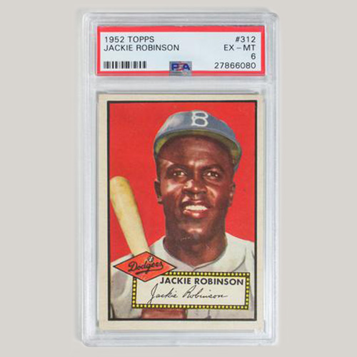 Topps Jackie Robinson Card