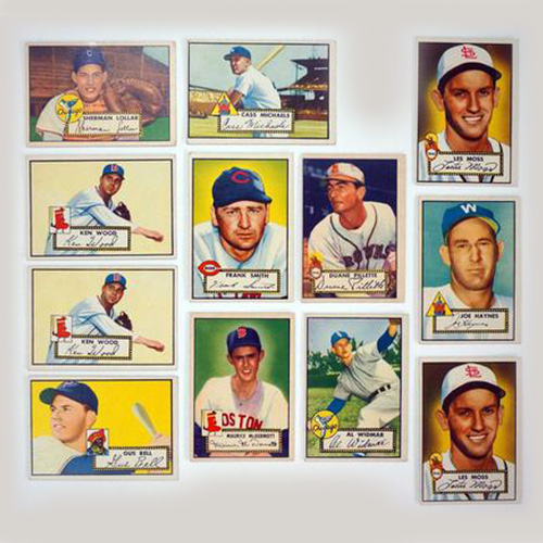 Topps Group of 25 Rare Cards