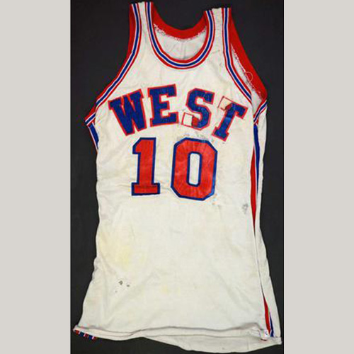 1971 Bob Love Western Conference Game Used All Star Jersey