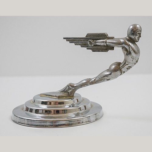 Rocket Man Hood Ornament